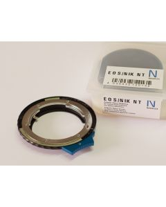 NOVOFLEX Camera Adapter: Canon EOS Body to Nikon G-Serie with integrated aperture control