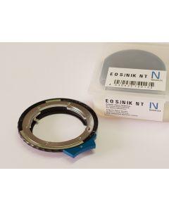 NOVOFLEX Camera Adapter: Canon EOS Body to Nikon G-Serie with integrated aperture control