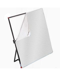 PHOTOFLEX Duk / LitePanels / Hvit/Sølv / 196x196 cm