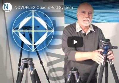 NOVOFLEX QuadroPod system informasjonsvideo om deres kamerastativer