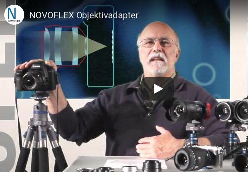 NOVOFLEX objektivadaptere informasjonsvideo - EOS kamera og Nikon objektiv - f.eks.